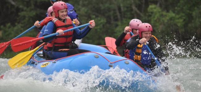 Rafting i Sjoa mer populært enn noen gang