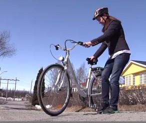 El-sykkel til bobilen
