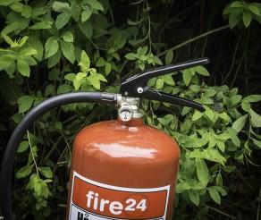 Sjekk brannslukkeren