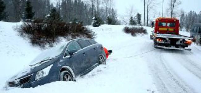 Bilister ofte uforberedt på vinteren